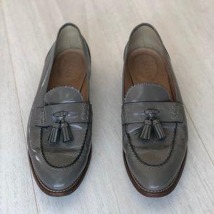 J Crew grey loafers